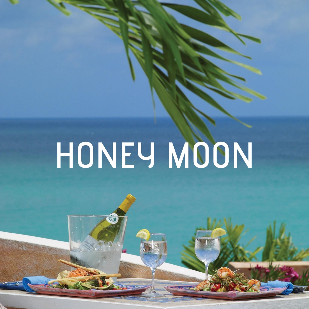 HONEY MOON AT LITTLE ARCHES BARBADOS